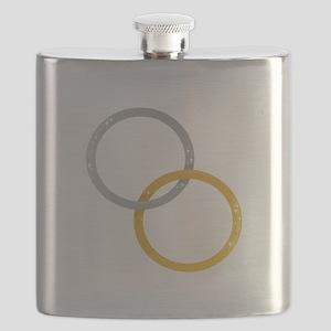 Linked Rings Flask