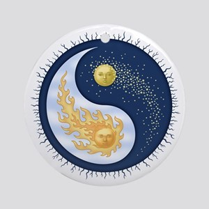 Sun-Moon Ornament (Round)