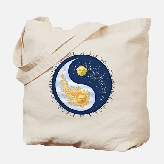 Sun-Moon Tote Bag