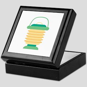 Camping Lantern Keepsake Box