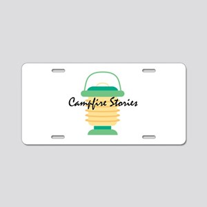 Campfire Stories Aluminum License Plate