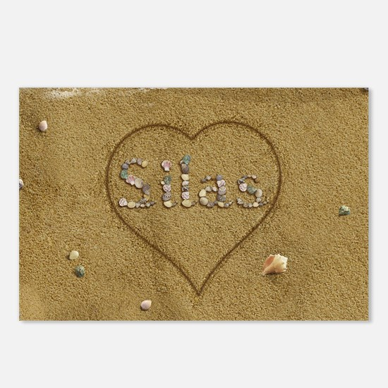 Silas Beach Love Postcards (Package of 8)