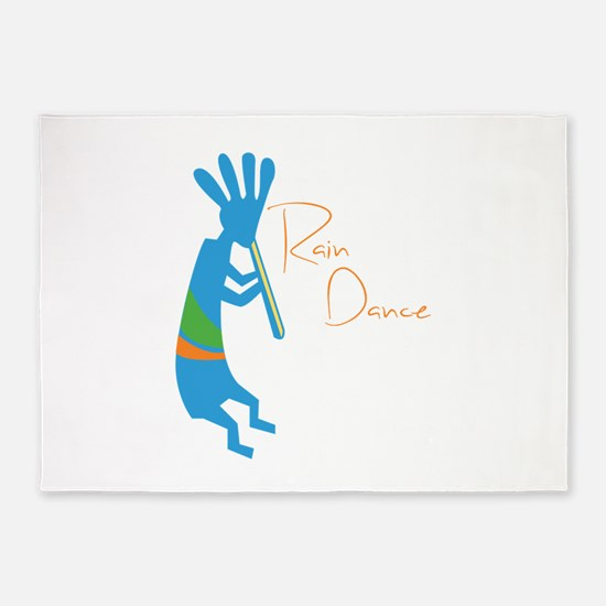 Rain Dance 5'x7'Area Rug