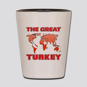 The Great Turkey Shot Glass