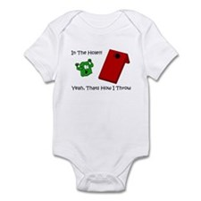 In The Hole Infant Bodysuit