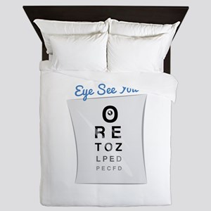 Eye See You Queen Duvet