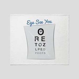 Eye See You Throw Blanket