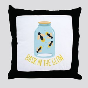 Bask In Glow Throw Pillow