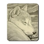 Shiba Inu Dog Mousepad