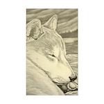 Shiba Inu Dog Sticker (Rectangle)