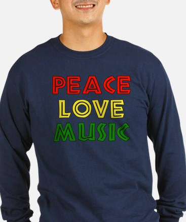 Peace Love Music T