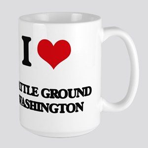 I love Battle Ground Washington Mugs