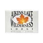Aikens Lake Rectangle Magnet Magnets