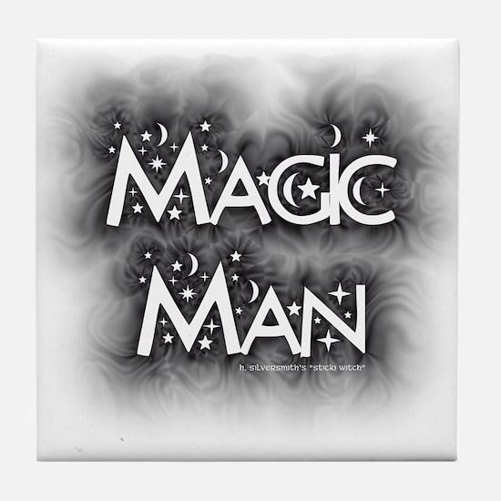 Magic Man (Tile Coaster)