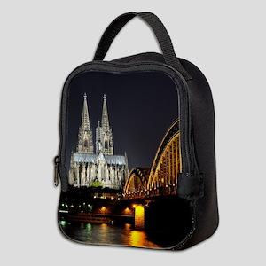 Cologne001 Neoprene Lunch Bag