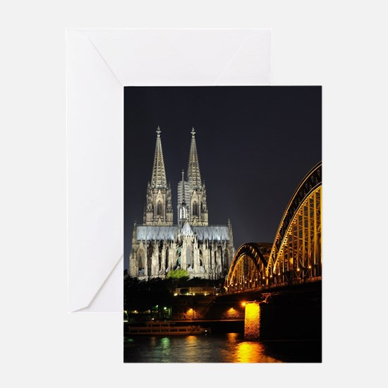 Cologne001 Greeting Cards