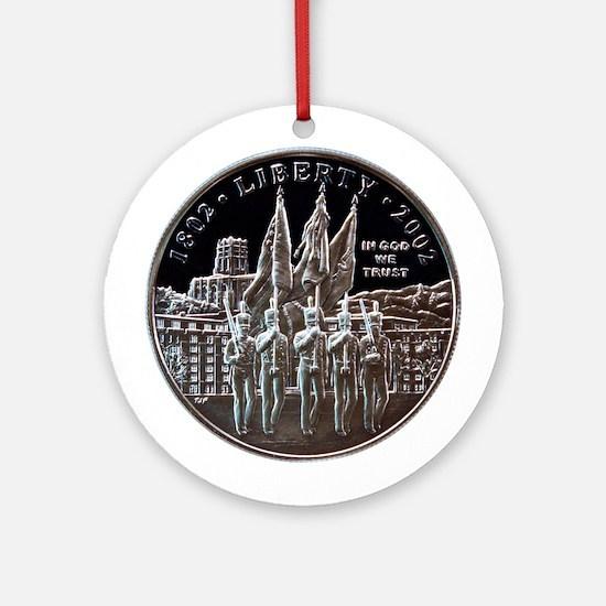 West Point Bicentennial Dollar Ornament (Round)