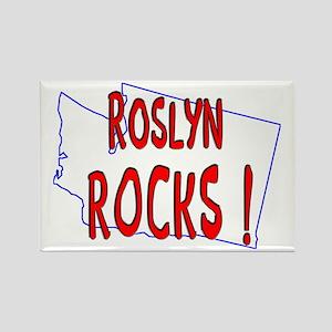 Roslyn Rocks ! Rectangle Magnet