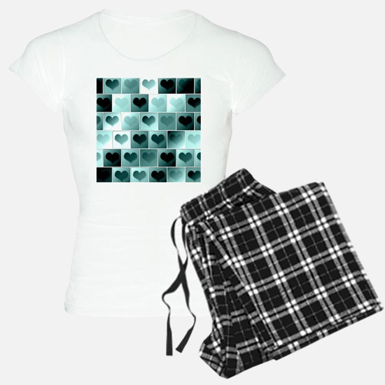 Monochrome hearts Pajamas