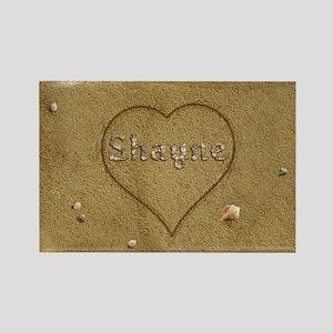 Shayne Beach Love Rectangle Magnet
