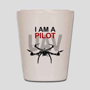 UAV Quadpilot Quadcopter Pilot Shot Glass