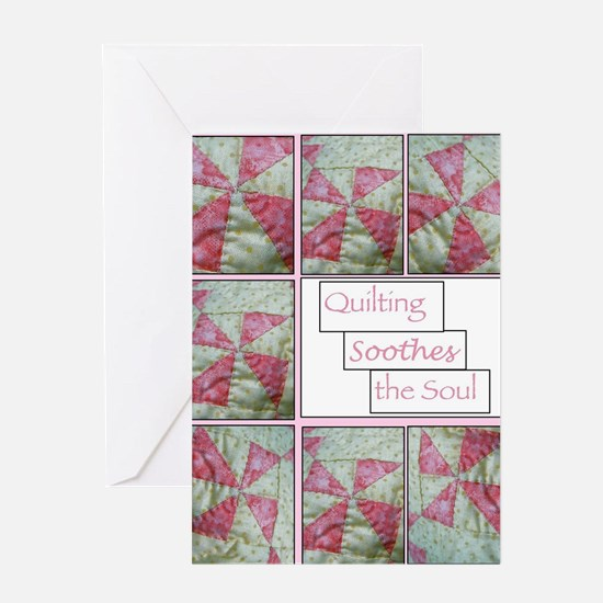 Cool Machine quilting Greeting Card