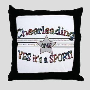 Cheer is a Sport Throw Pillow