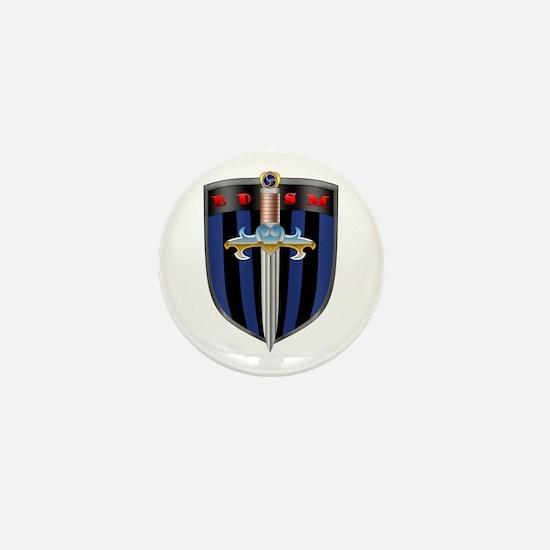 Bdsm Sheild Mini Button