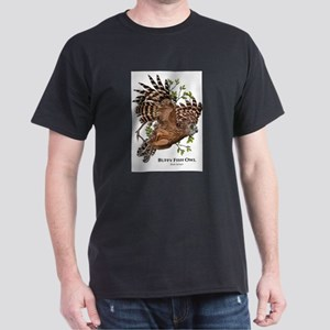 Buffy Fish Owl Dark T-Shirt