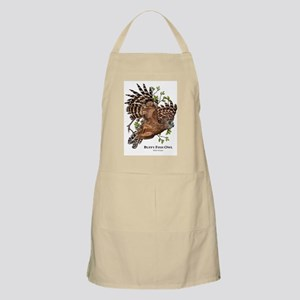 Buffy Fish Owl Apron