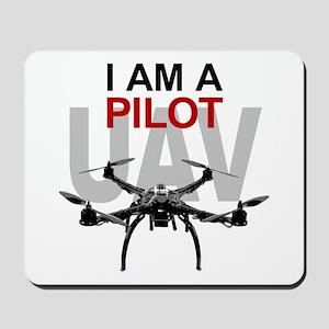 UAV Quadpilot Quadcopter Pilot Mousepad