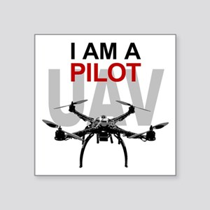UAV Quadpilot Quadcopter Pilot Sticker