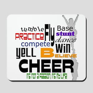 Cheer Words 2 Mousepad