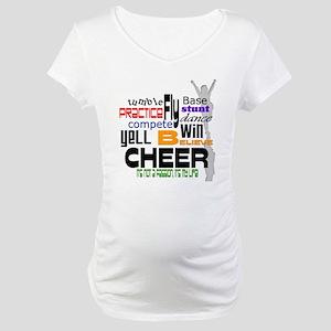 Cheer Words 2 Maternity T-Shirt