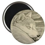 "Shiba Inu Dog 2.25"" Magnet (100 pack)"