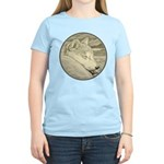 Shiba Inu Dog Women's Light T-Shirt
