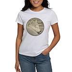 Shiba Inu Dog Women's Classic White T-Shirt