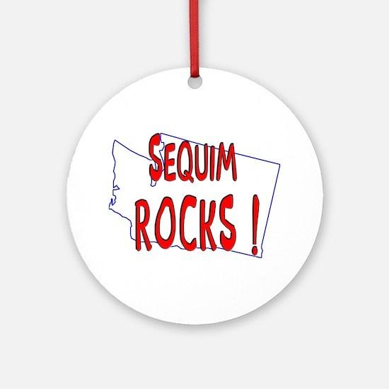 Sequim Rocks ! Ornament (Round)