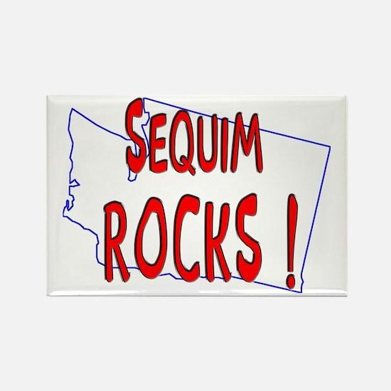 Sequim Rocks ! Rectangle Magnet