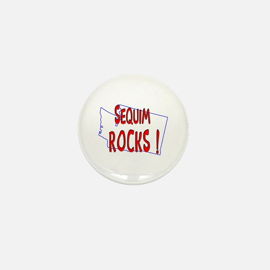 Sequim Rocks ! Mini Button