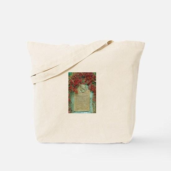 Frederic Chopin memorial Tote Bag