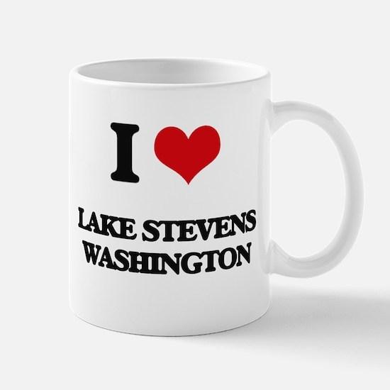 I love Lake Stevens Washington Mugs