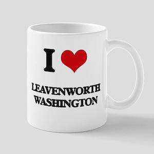 I love Leavenworth Washington Mugs