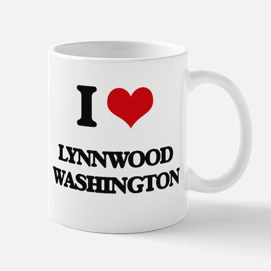 I love Lynnwood Washington Mugs