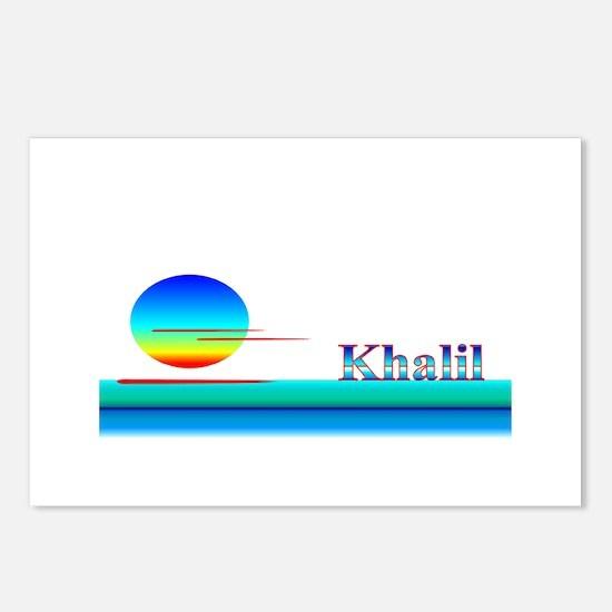 Khalil Postcards (Package of 8)