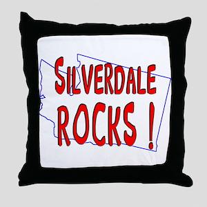 Silverdale Rocks ! Throw Pillow