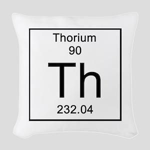 90. Thorium Woven Throw Pillow
