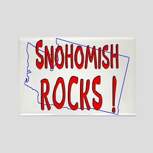 Snohomish Rocks ! Rectangle Magnet