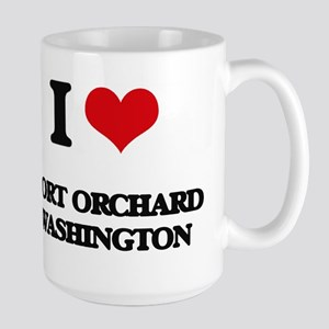 I love Port Orchard Washington Mugs