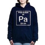 91. Protactinium Women's Hooded Sweatshirt